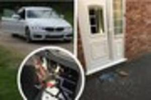 lichfield family's horror as car thieves smash in front door with...