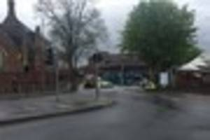 oap hit by bus by mcdonald's at junction of lower parade and...