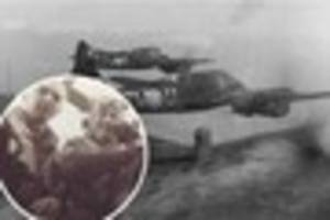 exeter blitz: 4 against 40 - the small band of fighter pilots...