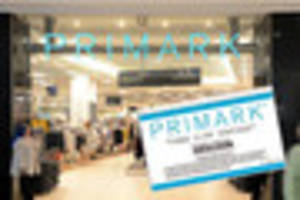 This voucher says it is for Primark and is appearing all over...