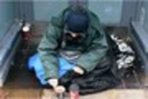 'two types of homeless in gloucester and some need to clear off'...
