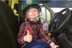 Chelmsford boy, 5, reunited with paramedics who saved his life