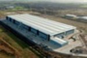 new distribution centre at castle donington set to create even...