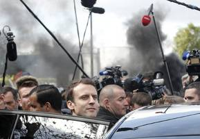 French election turns dirty at tumble dryer factory