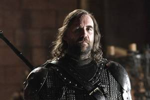 game of thrones star 'the hound' rory mccann docks in troon harbour after sailing in on swish yacht