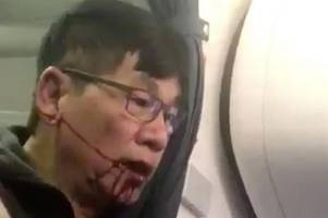 United Airlines pay off passenger violently dragged off plane in viral video