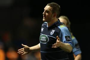 gethin jenkins ruled out of cardiff blues' guinness pro12 clash with zebre