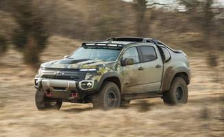 Chevrolet Colorado ZH2 Concept: We Ride in the Army's Experimental Hydrogen Fuel-Cell Truck