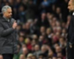 Mourinho expects Man City to finish in top four