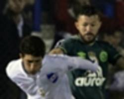 video: chapecoense's rossi sent off after touching player inappropriately