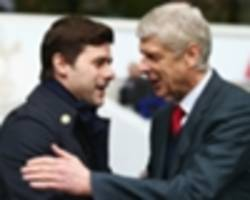 wenger: finishing above spurs wasn't important for 20 years, but now it is