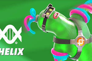 Nintendo debuts Helix, a flubber-like, lab-created 'Arms' character