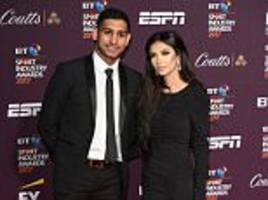 amir khan and wife faryal put family row behind them