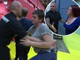 jeremy kyle bouncers stop mother kicking pregnant daughter