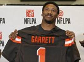 nfl draft 2017 first round recap: myles garrett goes no 1