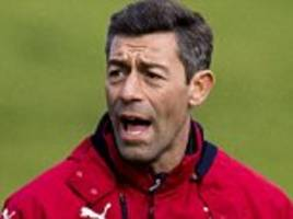 I'm a f****** tough guy, says Rangers boss Pedro Caixinha