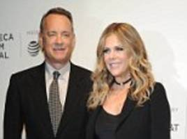 tom hanks and wife rita wilson discuss 29th anniversary