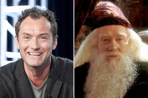 jude law talks young dumbledore's sexuality: 'another layer' to 'great wizard' (exclusive)