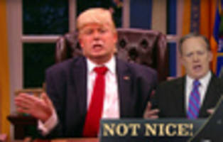 Video: Fake Donald Trump Plays 'Nice! Not Nice!' On Premiere Of 'The President Show'