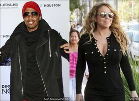 nick cannon is still close to ex mariah carey but says they're not sleeping together