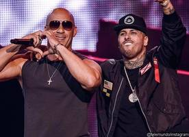 Vin Diesel Makes Rapping Debut With Nicky Jam at the 2017 Billboard Latin Music Awards