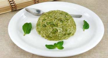 Healthy recipe: Pudina or mint rice