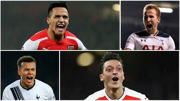 tottenham v arsenal: pick your combined north london derby xi