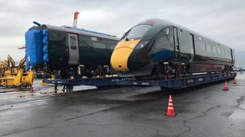 gwr test trains head to the uk