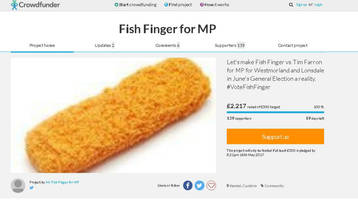 Crowdfunding the election: How to pay for snap campaign