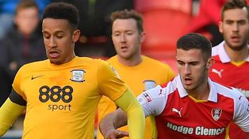 preston north end v rotherham united