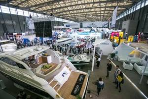 the 22nd china (shanghai) international boat show opens with 500 exhibitors from 20 countries