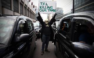 black cab drivers are readying a fresh fight over uber's license in london