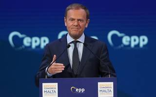 "now tusk says brexit talks must start with ""people, money and ireland"""