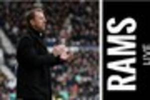 Derby County Live: Gary Rowett press conference ahead of Wolves...