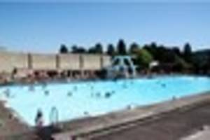 £12k to be spent on study in to heating outdoor pool