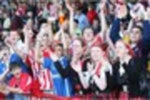 ten years on: cheltenham town secure league one survival at...