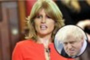 will rachel johnson anger brother boris by standing as an...