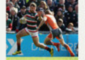 ton-up for leicester tigers pair adam thompstone and graham...
