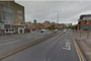 drunk man urinated in busy nottingham street