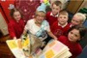 School cook of 35 years retires from Notts school on her 65th...