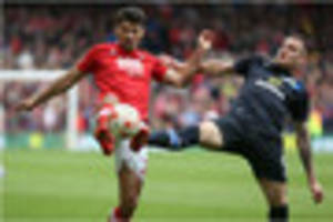 perfect 10 for eric lichaj as defender cleans up at nottingham...