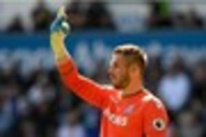 stoke city: butland a wanted man, says team-mate