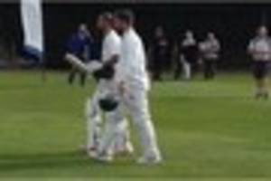 Weekend cricket fixtures across North Staffordshire and South...