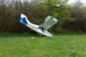 Devon fire crews called to plane crash and fire which 'severely...