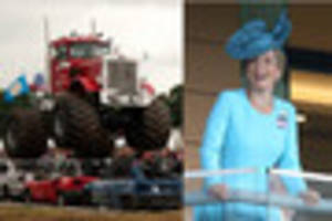 Monster trucks and a Royal visitor for 122nd Devon County Show