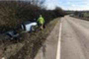 drug driver avoids jail after crashing lorry into broken down bmw...