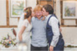 ed sheeran played surprise chelmsford wedding gig for groom who...