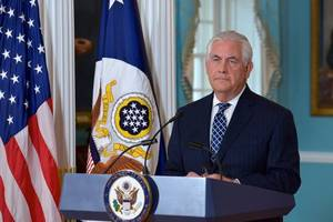 Tillerson: China Threatened Sanctions on North Korea To Stop Further Nuclear Tests
