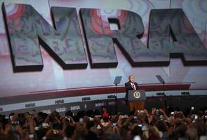 Trump Becomes First President Since Reagan To Address NRA, Claiming 8-Year Assault On Gun Rights Is Over
