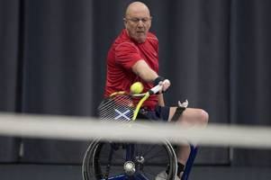 Dalbeattie wheelchair tennis player Keith Thom achieves highest world ranking to date